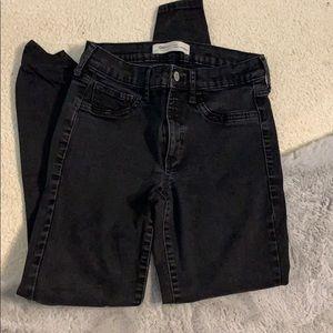 Black GAP jeans skinny